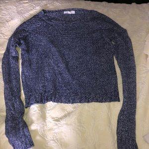 JACK Blue Cropped Sweater